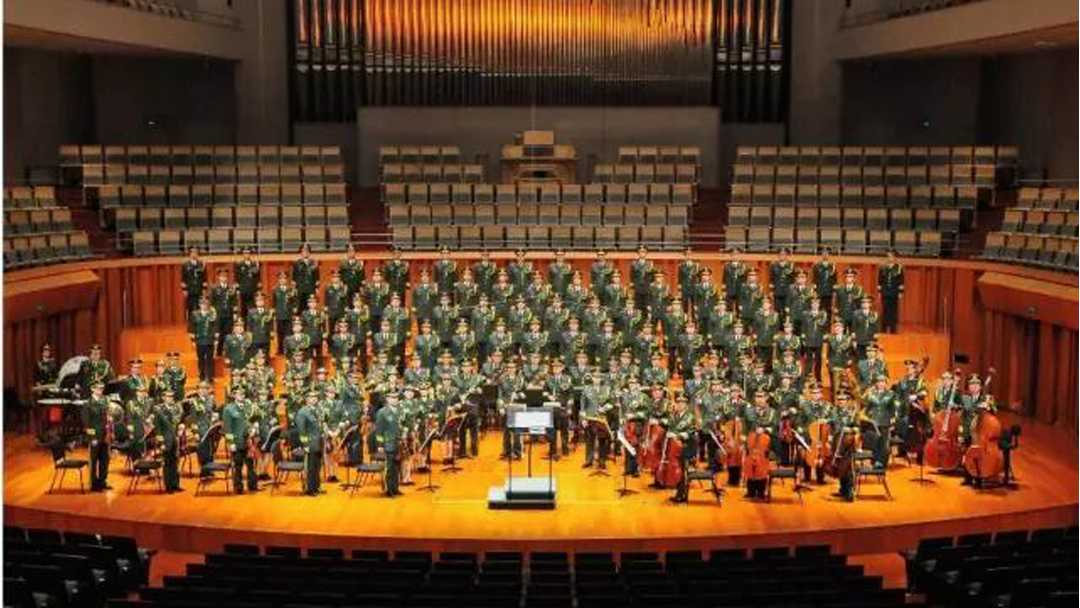 庆祝建军90周年中国士兵男声合唱团交响合唱音乐会