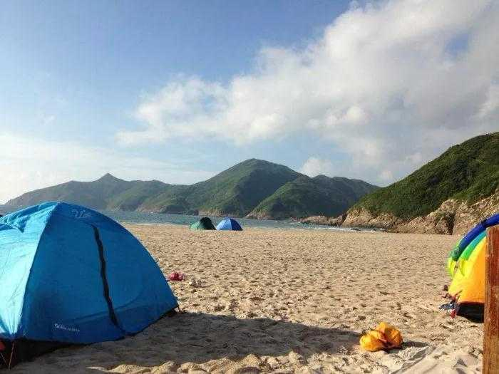 4.5-6徒步麦径二段轻装露营,探秘地质奇观桥咀洲岛