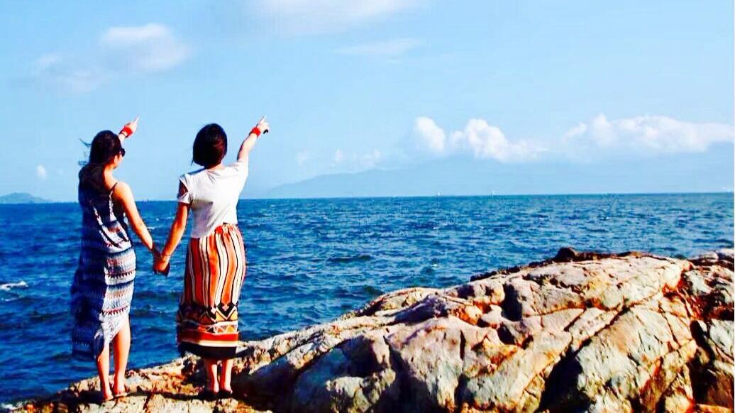 喜洲岛生态之旅、烧烤、篝火、快艇登岛、放烟花、游泳