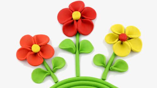 超轻粘土系列——花朵