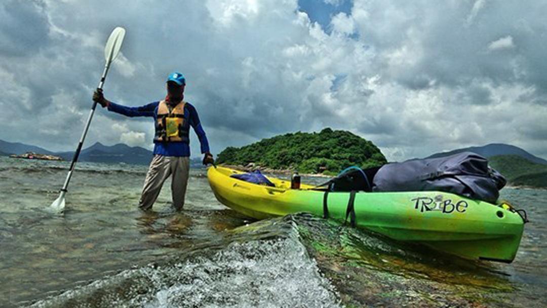 皮划艇运动|香港西贡划艇航海探索海岛活动