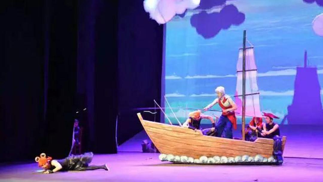 大型亲子互动儿童剧《老人与海》深圳再现经典68元开抢啦!