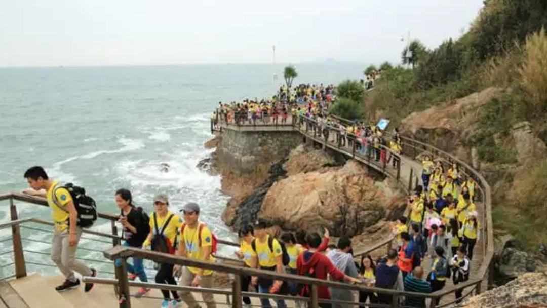 2017第五届深圳海滨栈道20km大型公益徒步开始报名啦
