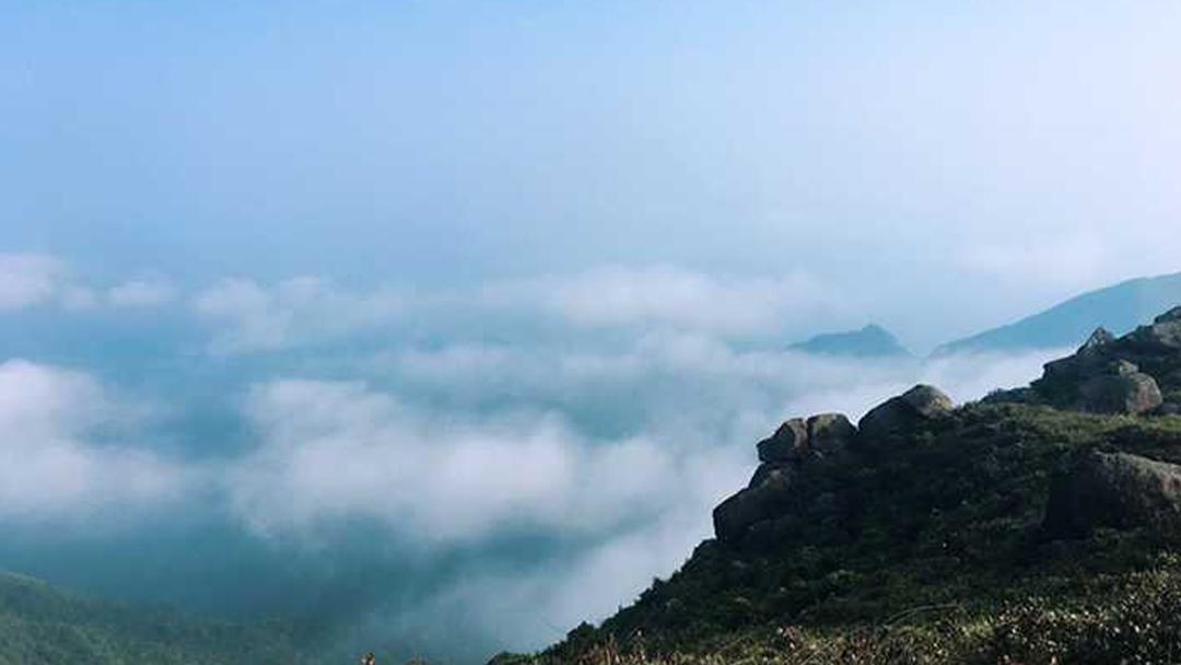 惠东大南山穿越 55户外 1月7日